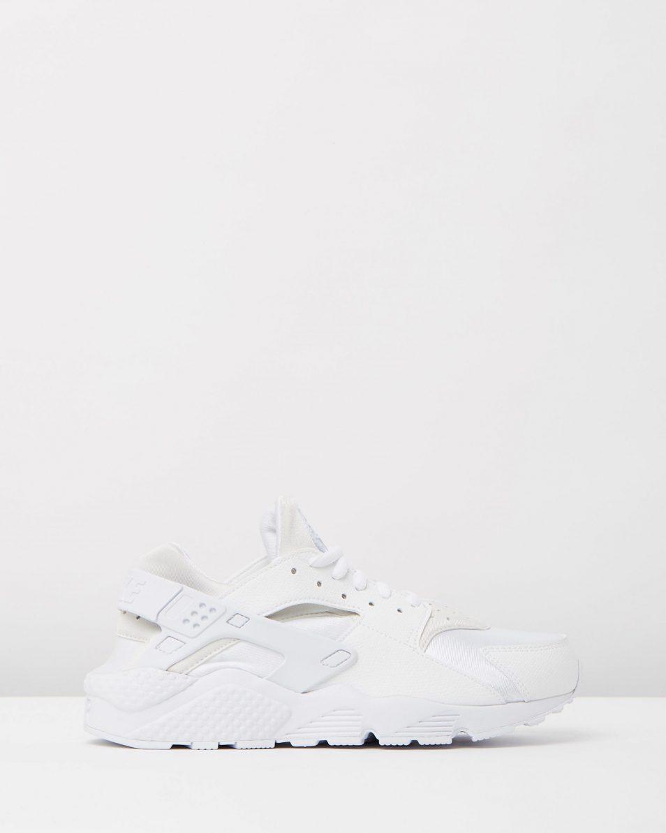 Womens Nike Air Huarache Run White 1