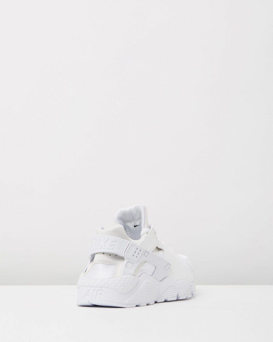 Womens Nike Air Huarache Run White 2