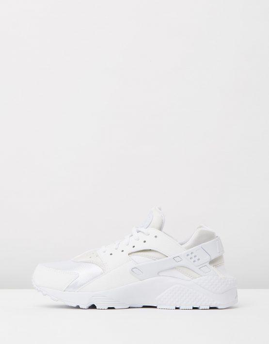 Womens Nike Air Huarache Run White 3