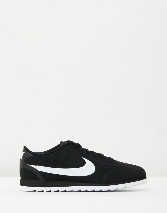 Womens Nike Cortez Ultra Moire Black White 1