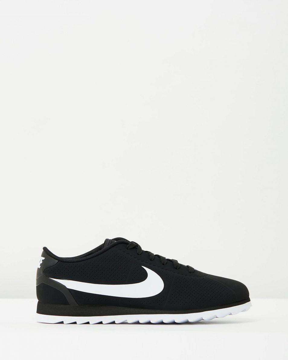 Womens Nike Cortez Ultra Moire Black White 1