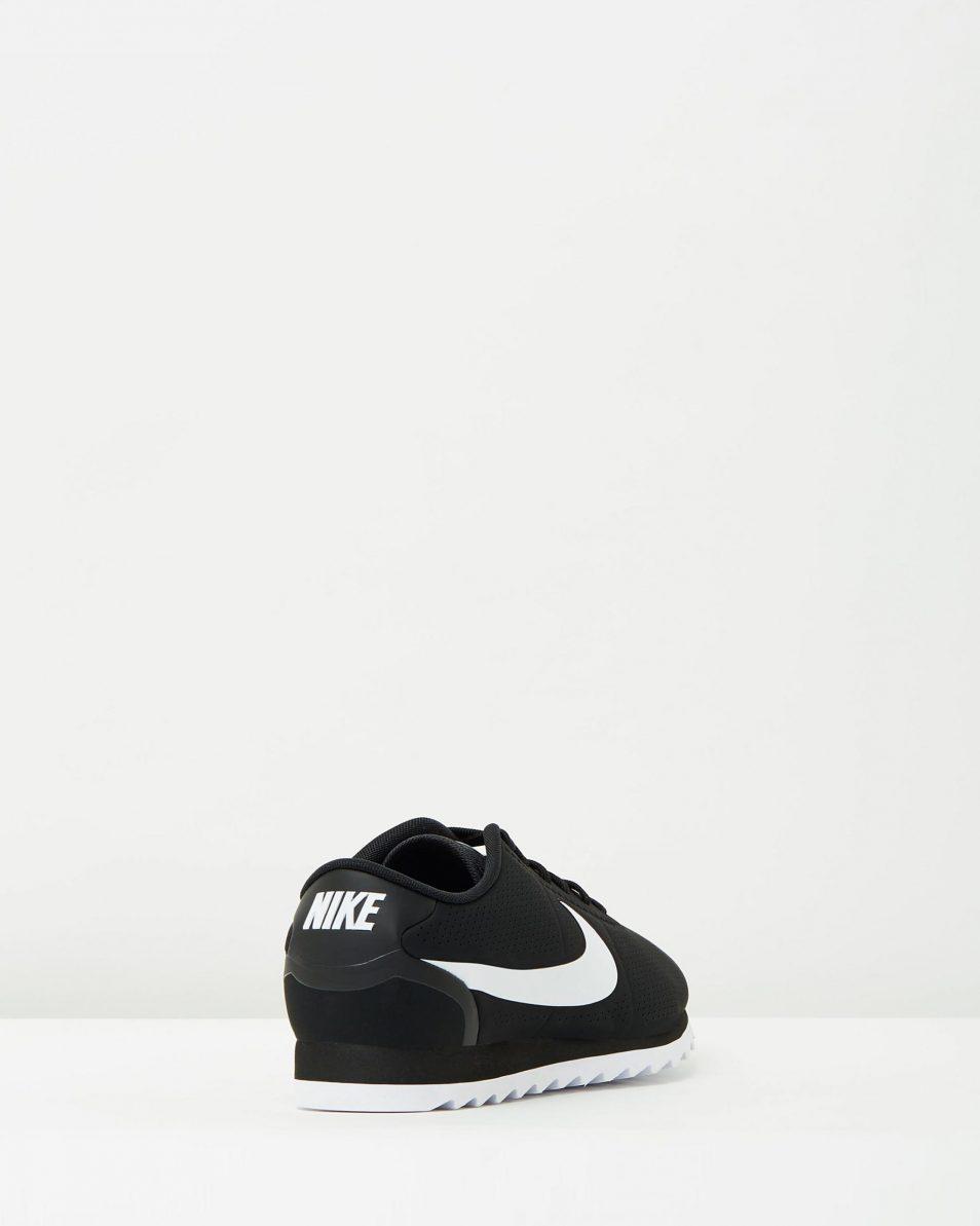 Womens Nike Cortez Ultra Moire Black White 2