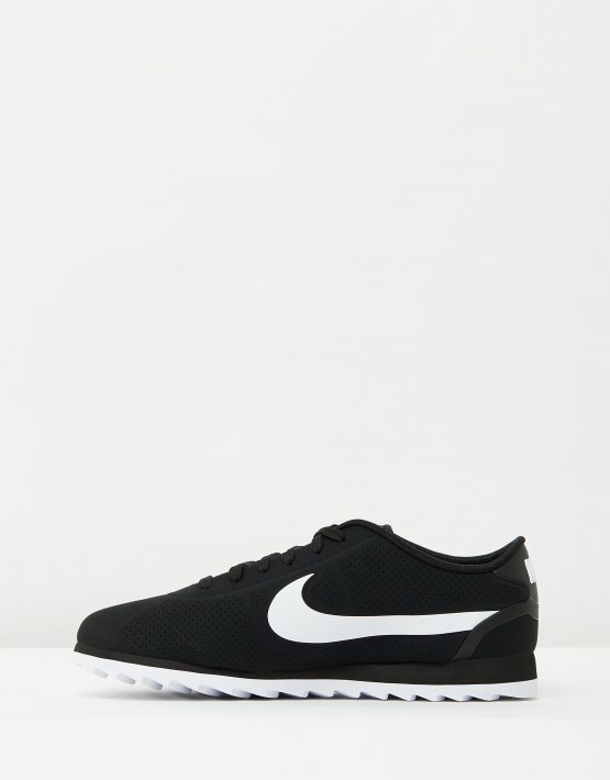 Womens Nike Cortez Ultra Moire Black White 3
