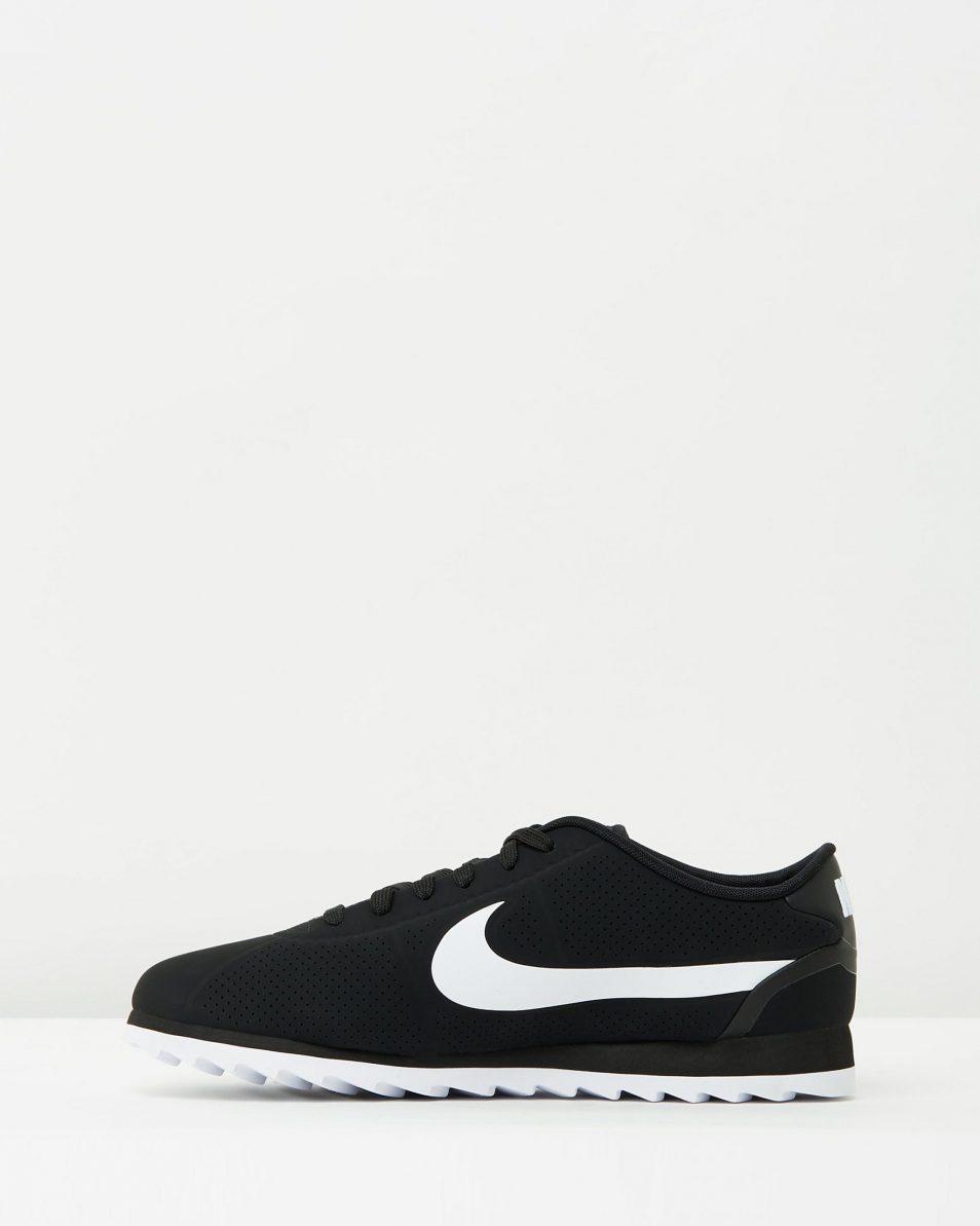 Womens Nike Cortez Ultra Moire Black White 3