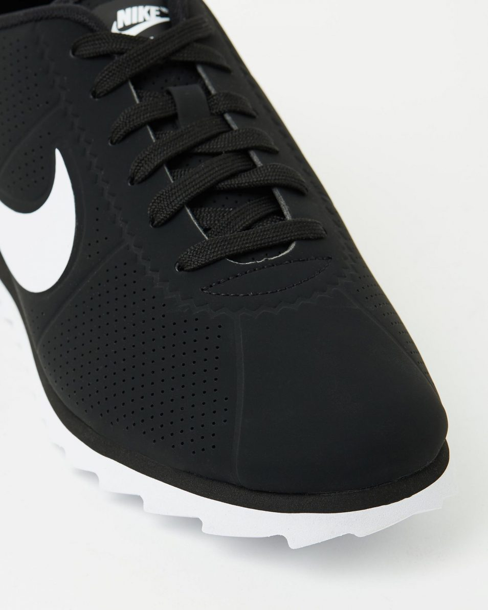 Womens Nike Cortez Ultra Moire Black White 4