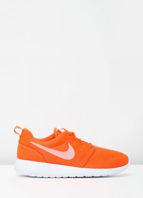 Womens Nike Roshe One Orange 1