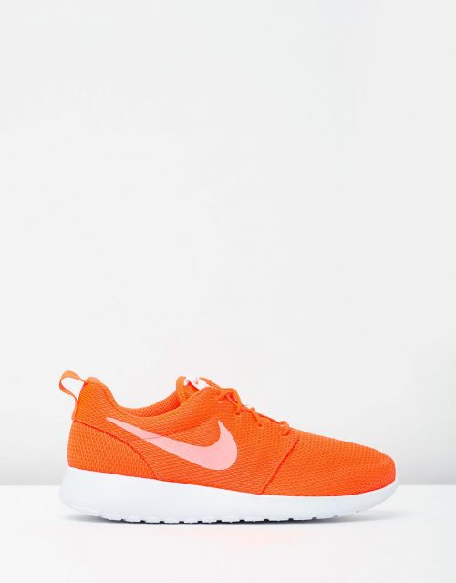 Womens Nike Roshe One Orange 1