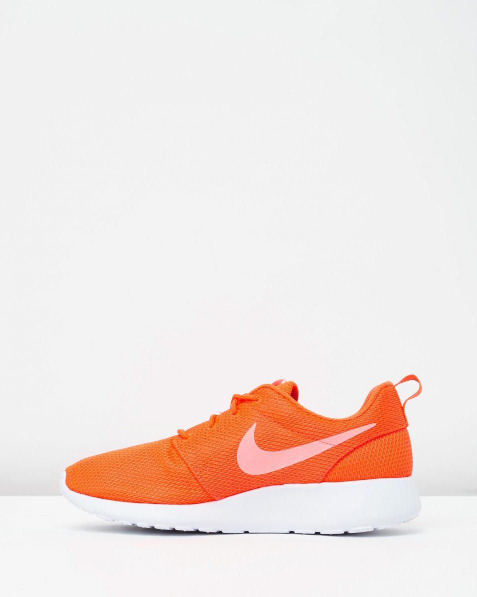 Womens Nike Roshe One Orange 3