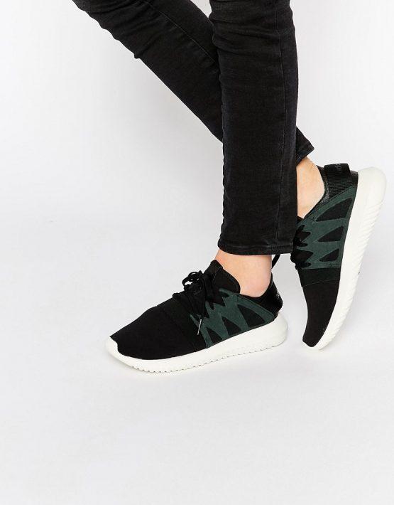 adidas Originals Black Tubular Viral Sneakers 1