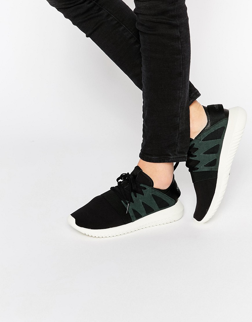 adidas Originals Black Tubular Viral Sneakers 1