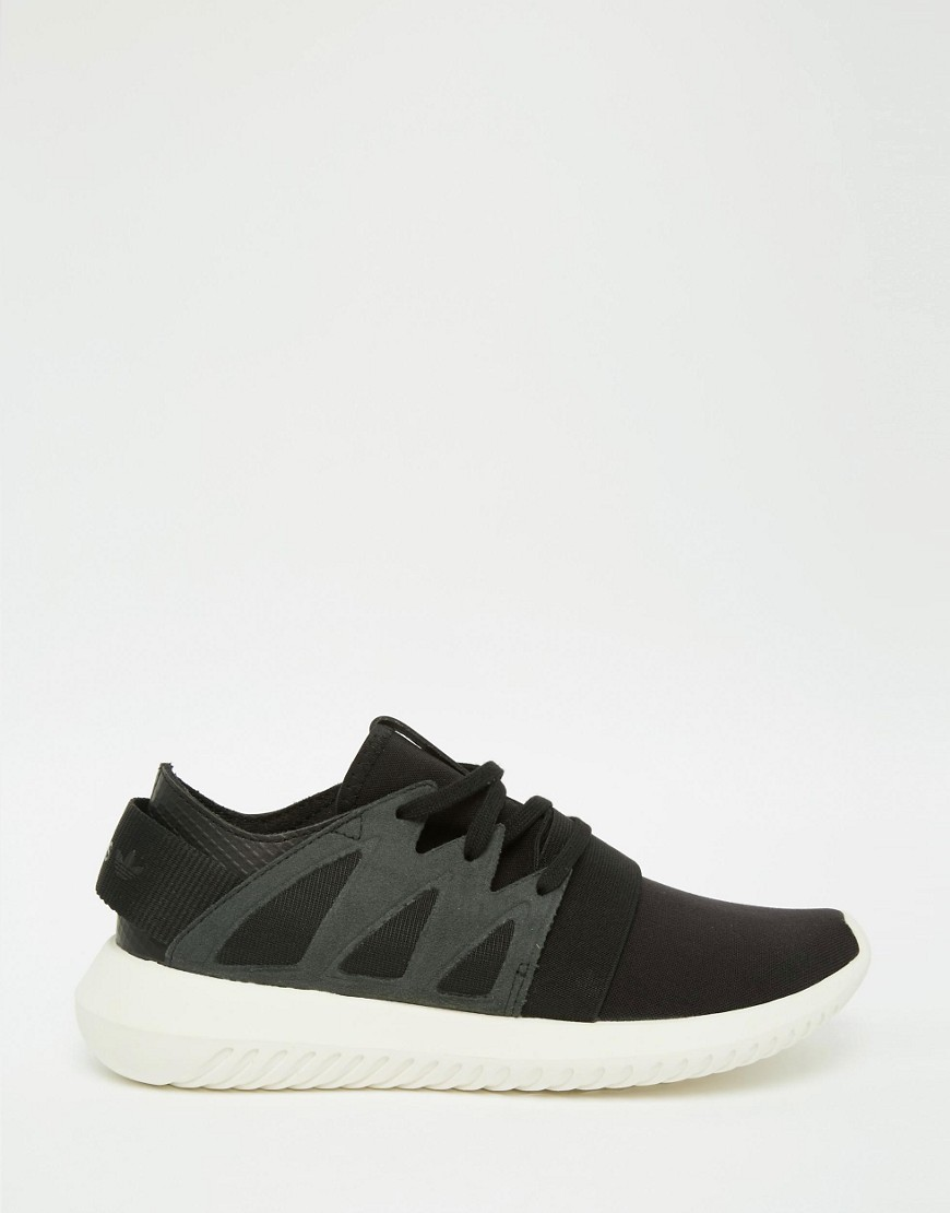 adidas Originals Black Tubular Viral Sneakers 2
