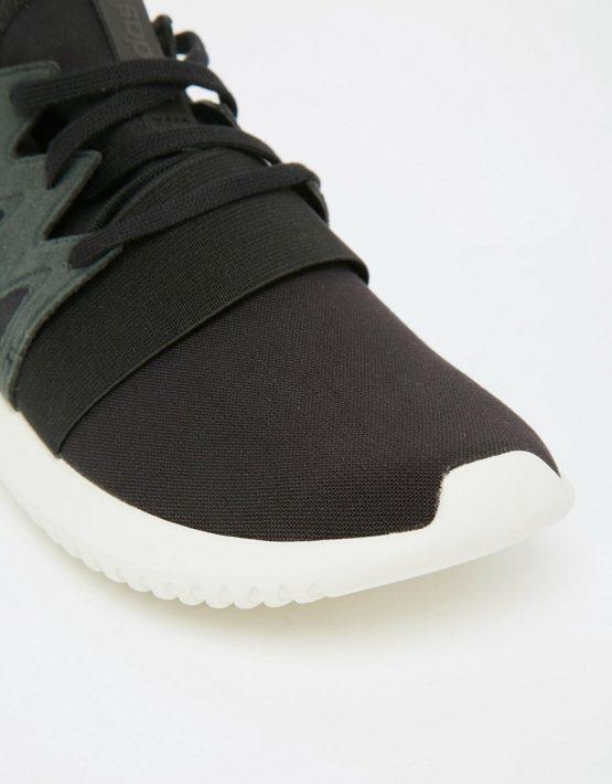 adidas Originals Black Tubular Viral Sneakers 4