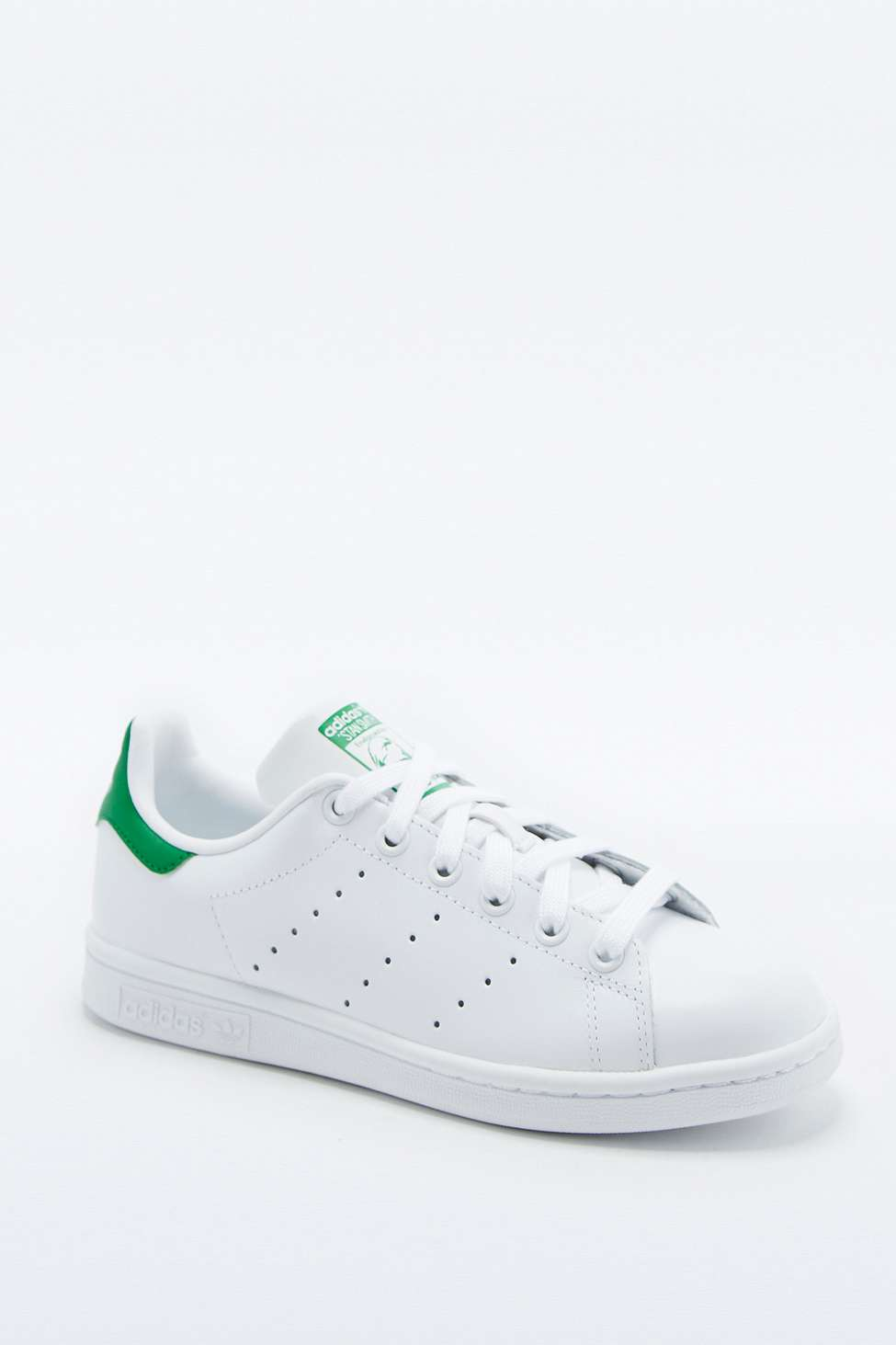 Adidas Originals Stan Smith White and Green Trainers
