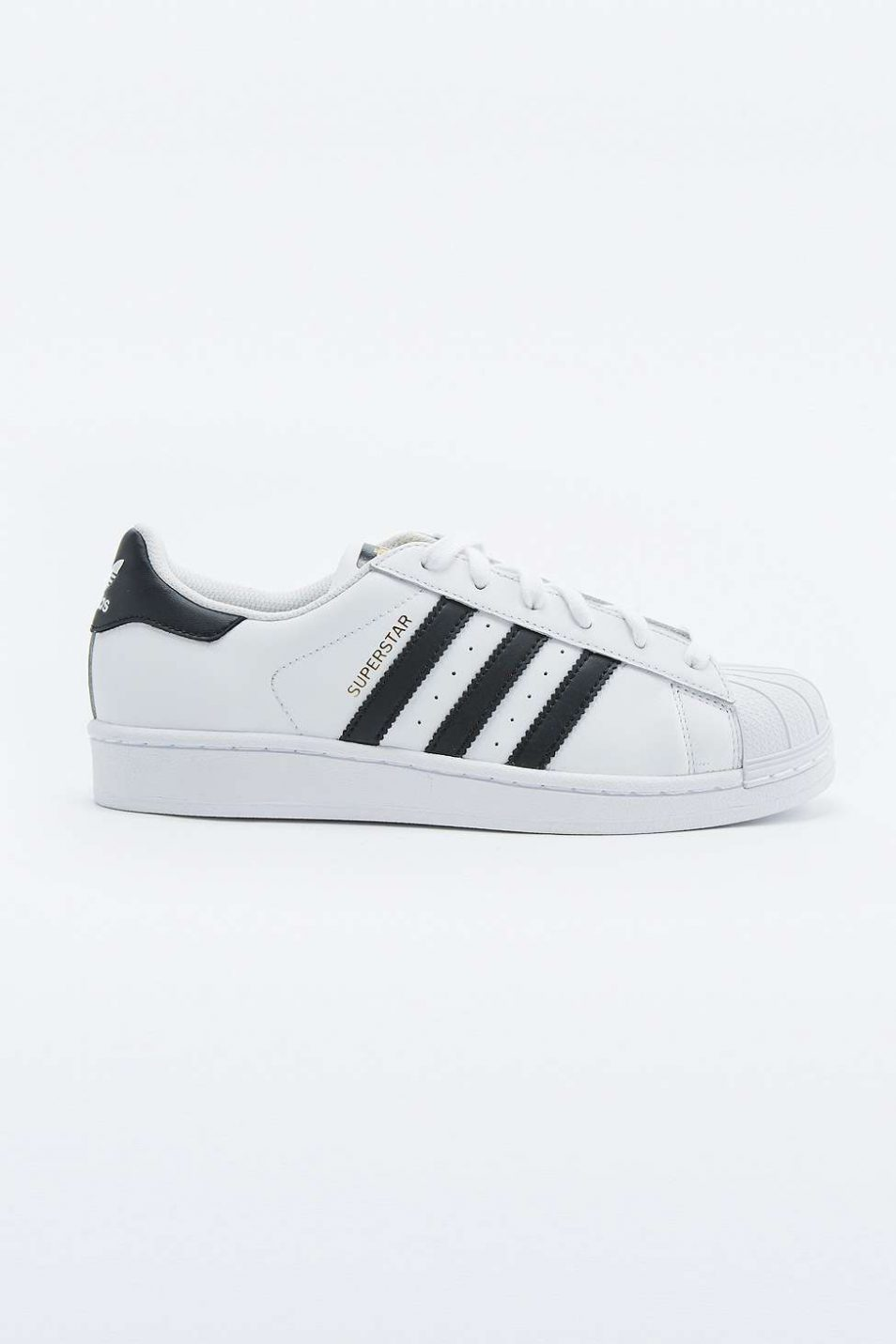 adidas Originals Superstar White and Black Trainers 2