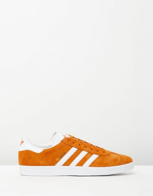 Adidas Mens Gazelle Unity Orange Sneakers 1
