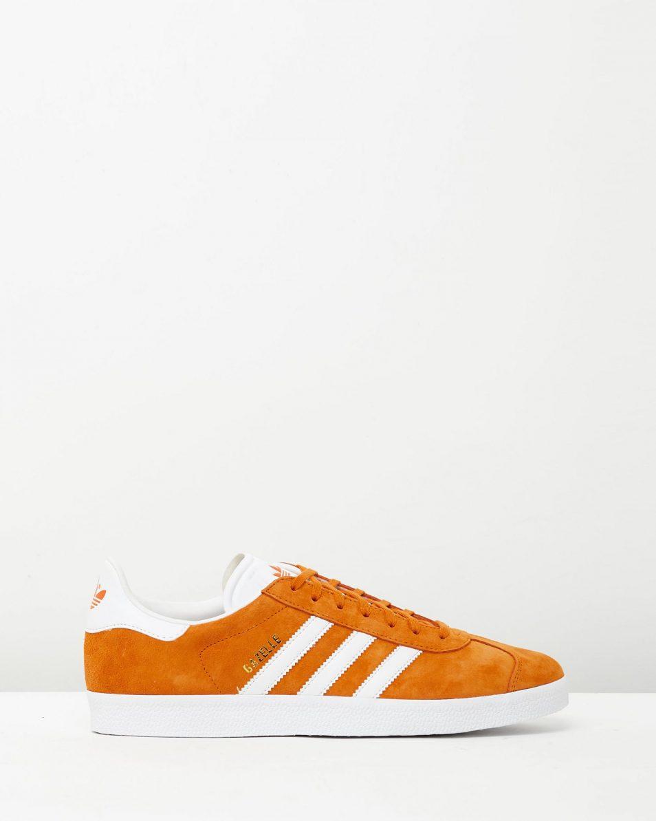 Adidas Mens Gazelle Unity Orange Sneakers 1