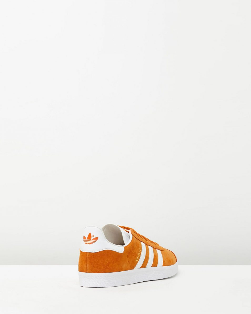 Adidas Mens Gazelle Unity Orange Sneakers 2