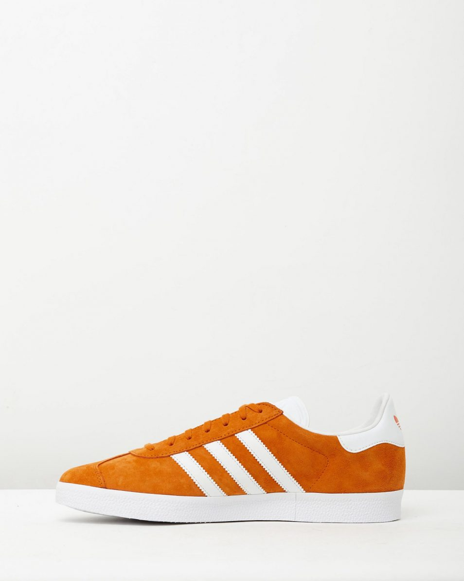 Adidas Mens Gazelle Unity Orange Sneakers 3