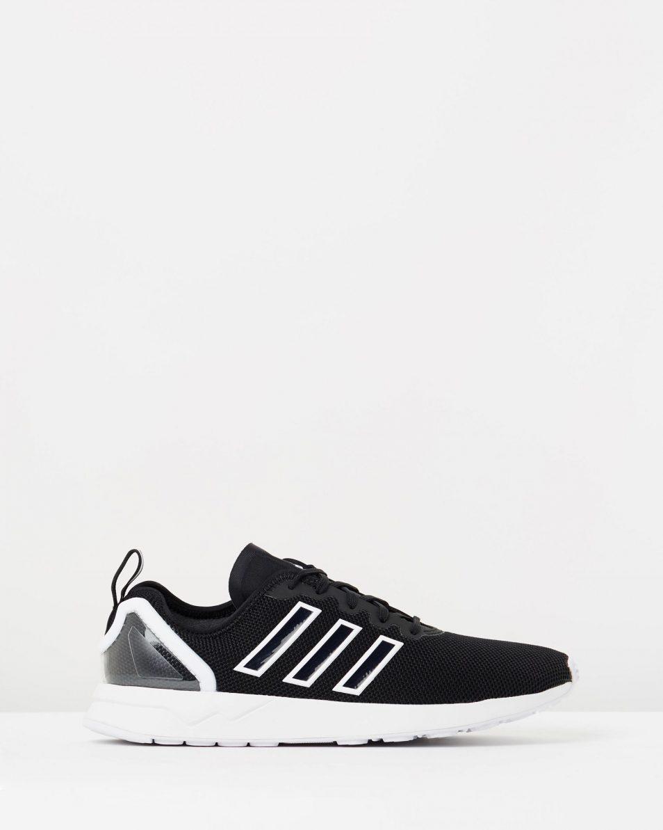 Adidas Mens ZX Flux ADV Black White 1