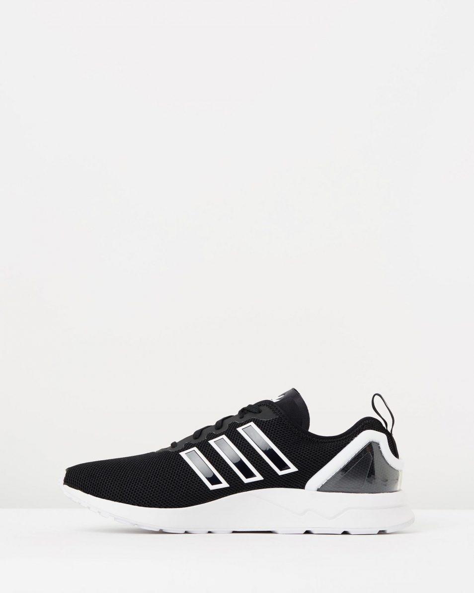 Adidas Mens ZX Flux ADV Black White 3