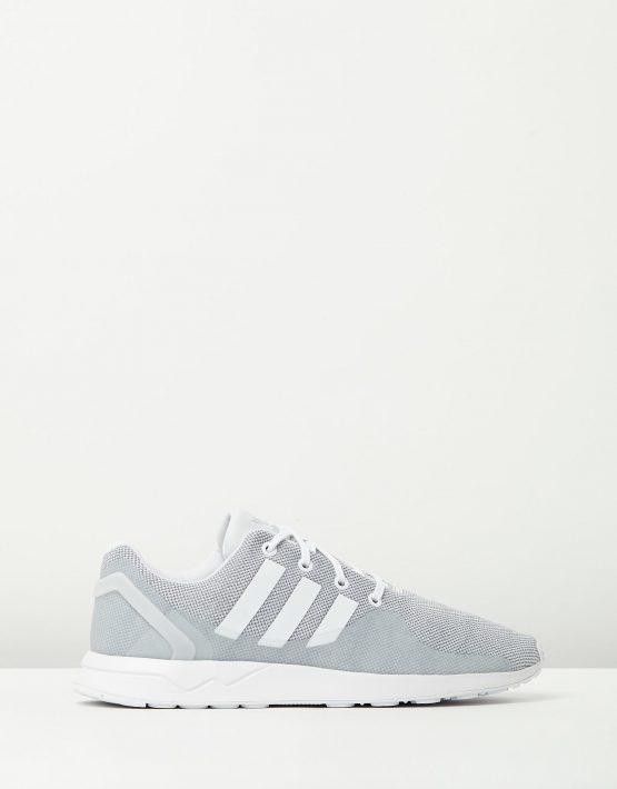 Adidas Mens ZX Flux ADV Tech GREY WHITE 1