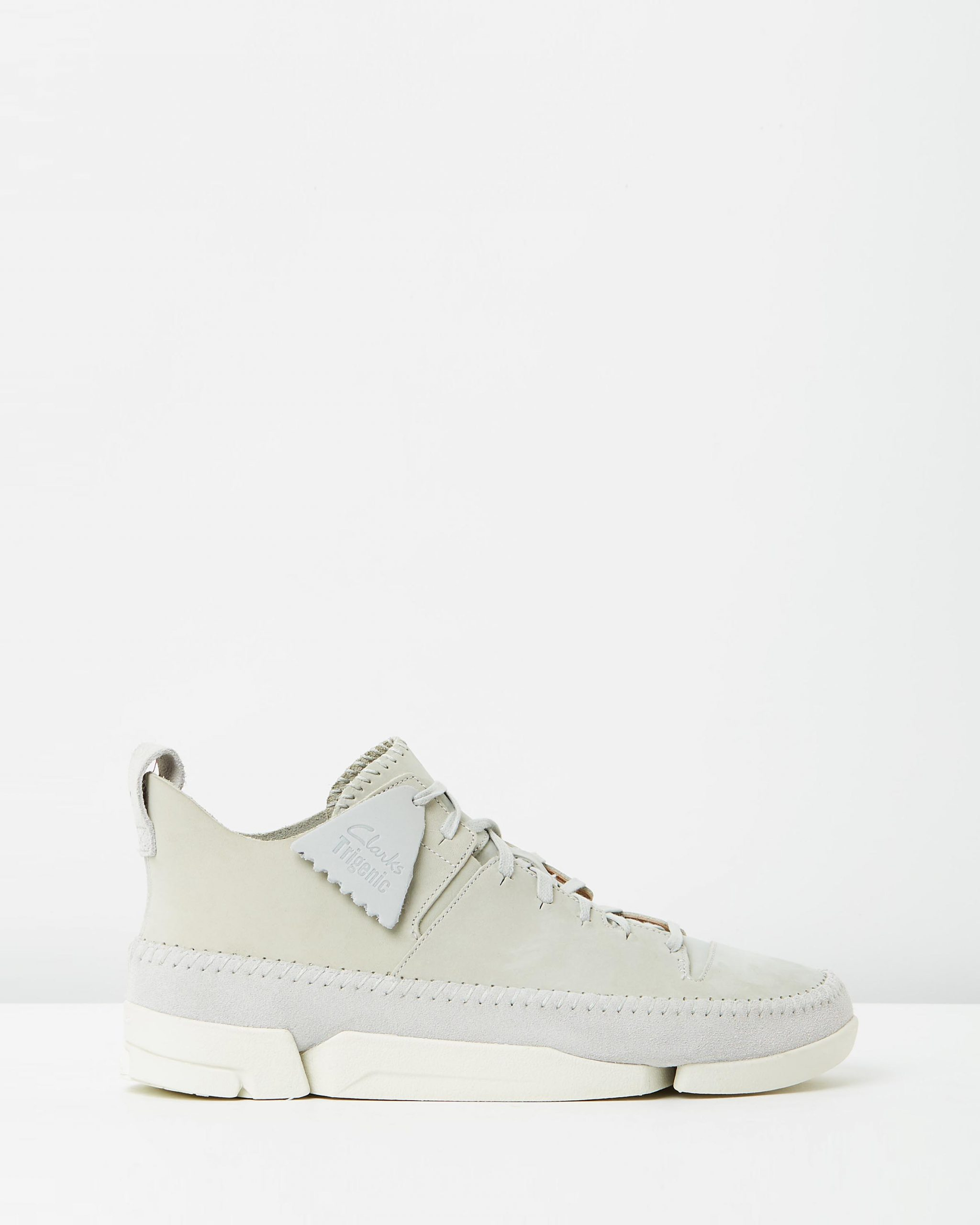 Clarks Originals Trigenic Flex Light Grey Nubuck