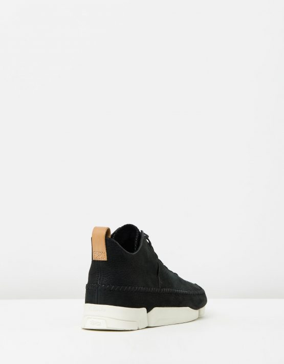 Clarks Originals Trigenic Flex Black Nubuck 2