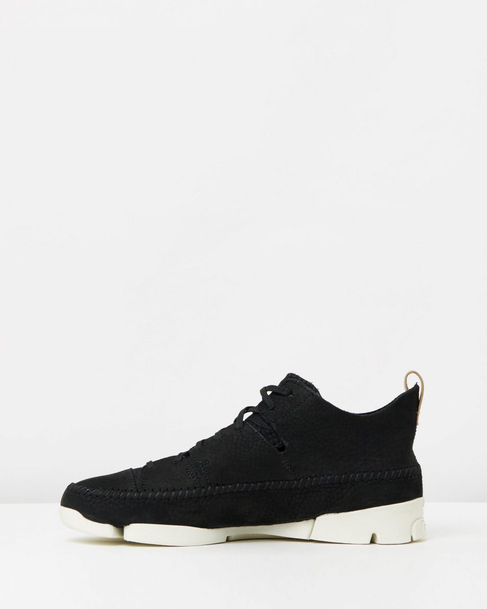 Clarks Originals Trigenic Flex Black Nubuck 3