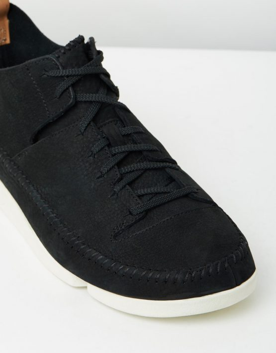 Clarks Originals Trigenic Flex Black Nubuck 4