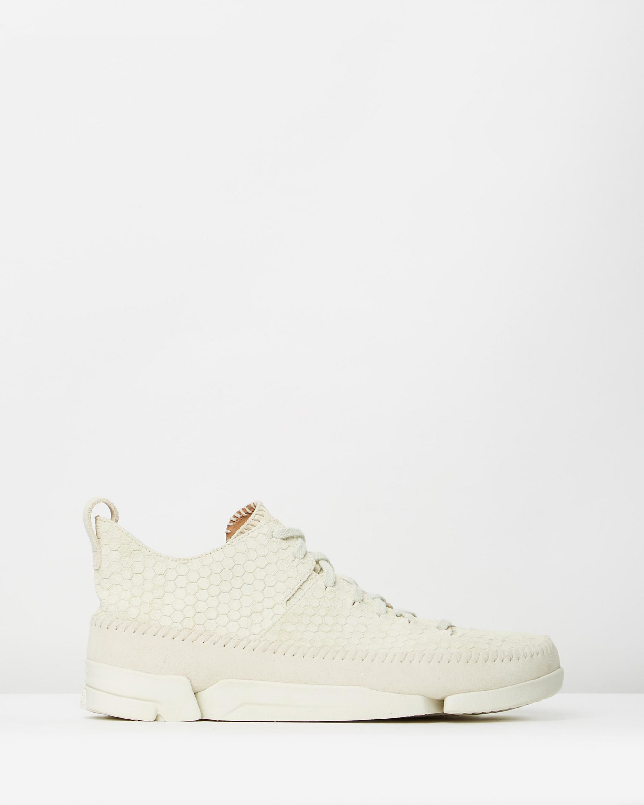 Clarks Originals Trigenic Flex Off-White Interest Suede