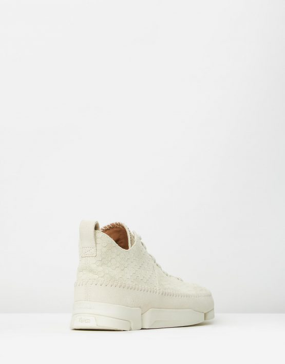 Clarks Originals Trigenic Flex Off White Interest Suede 2