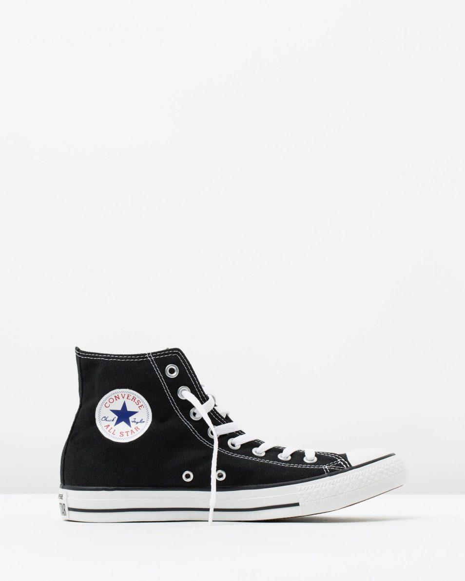 Converse Mens Chuck Taylor All Star Hi Black 1