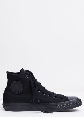 Converse Mens Chuck Taylor All Star Hi Black Monochrome 1