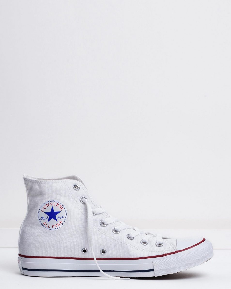 Converse Mens Chuck Taylor All Star Hi Optical White 1