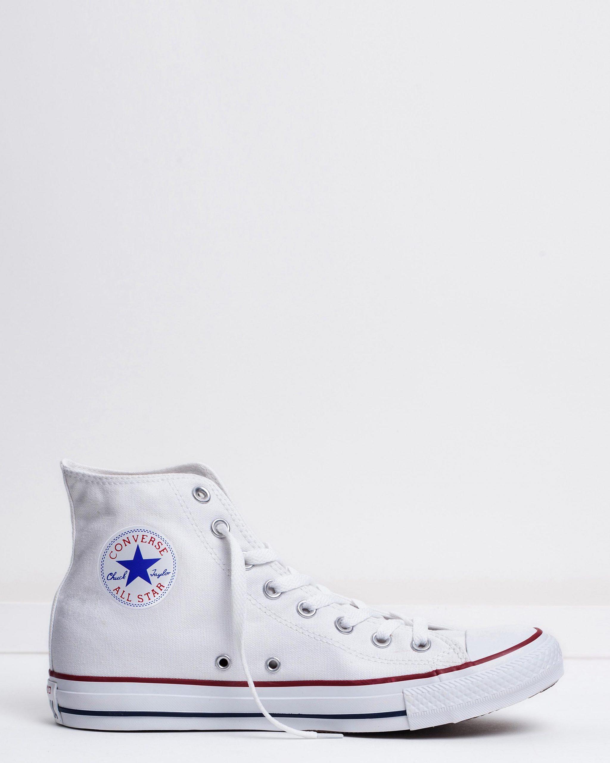 Converse Men's Chuck Taylor All Star Hi Optical White