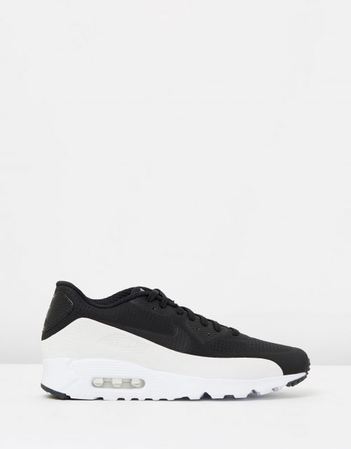 Nike Air Max 90 Ultra Moire Black White 1