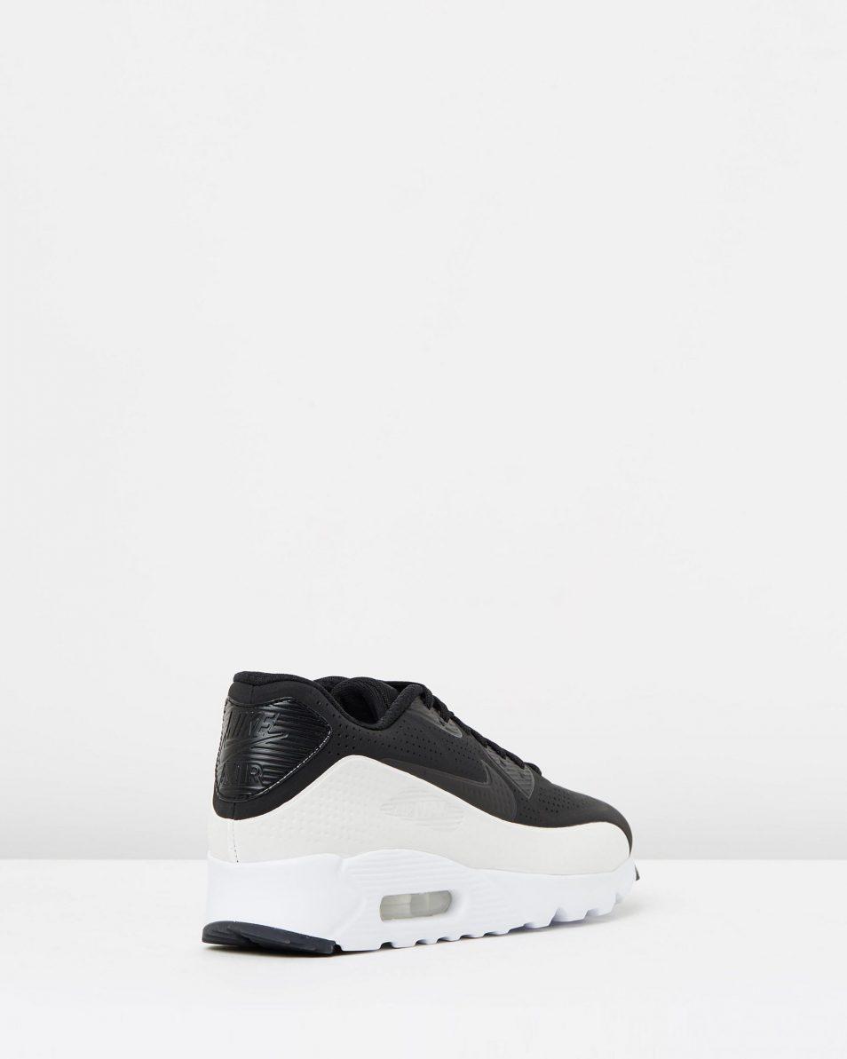 Nike Air Max 90 Ultra Moire Black White 2