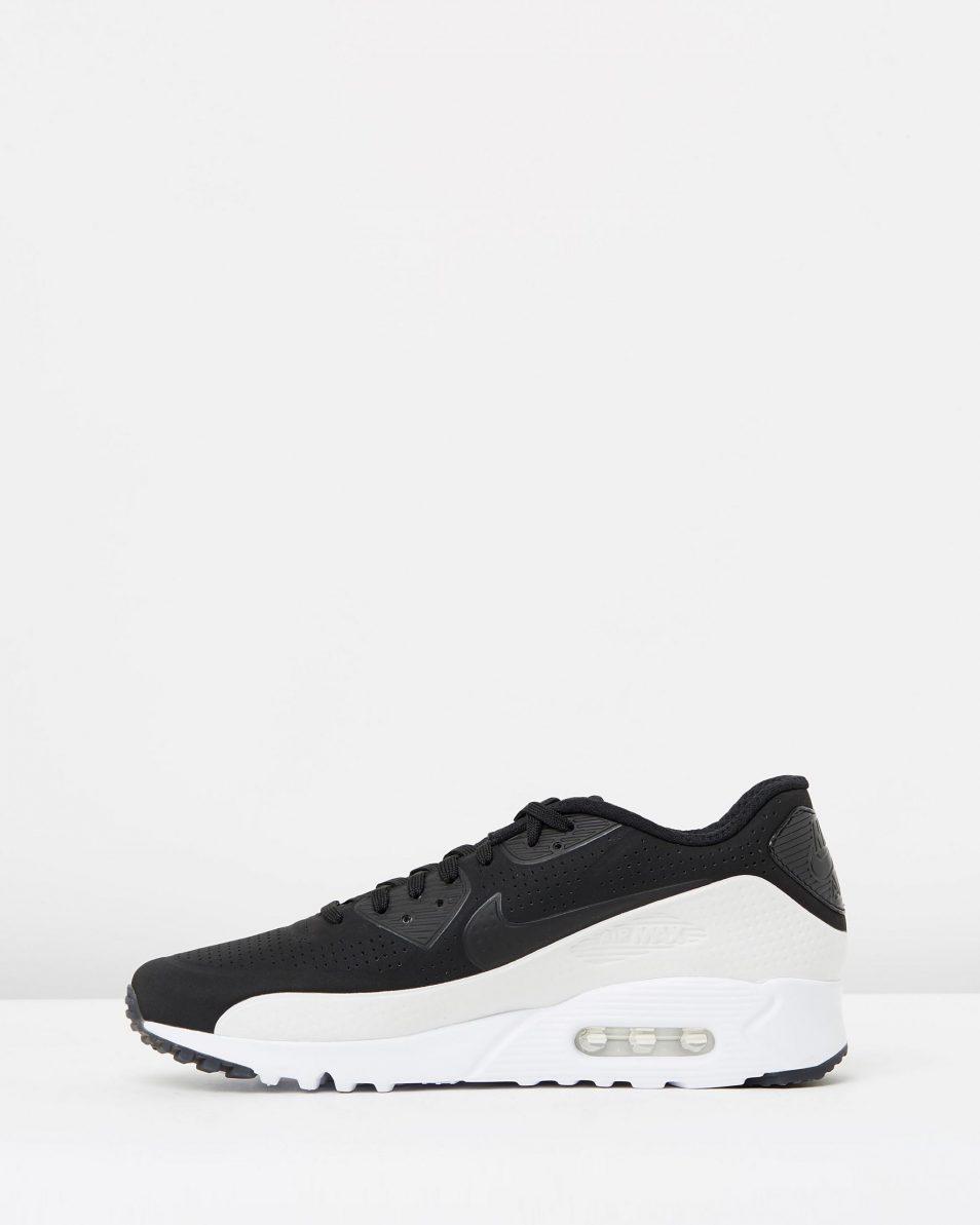 Nike Air Max 90 Ultra Moire Black White 3