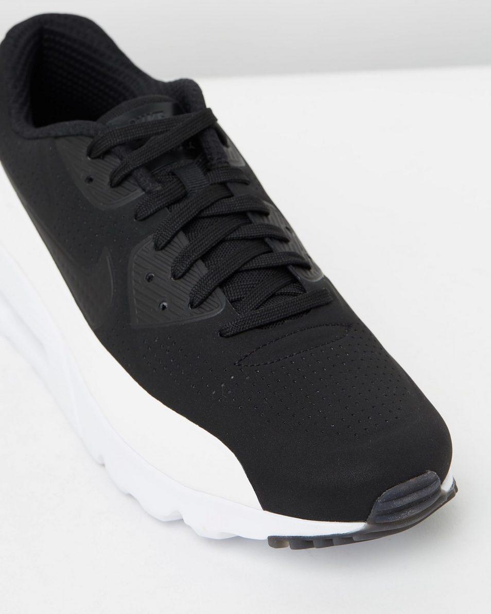 Nike Air Max 90 Ultra Moire Black White 4