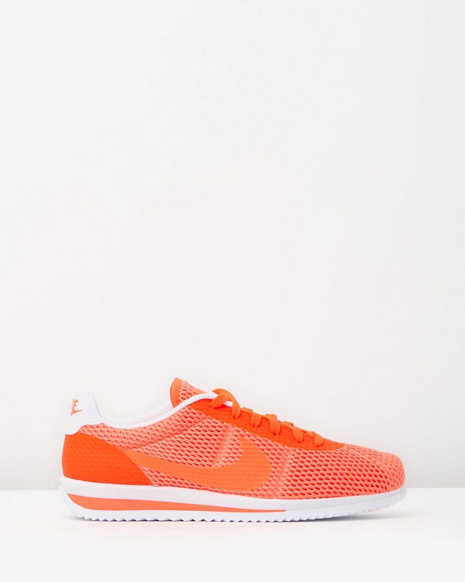 Nike Cortez Ultra BR Total Crimson White 1