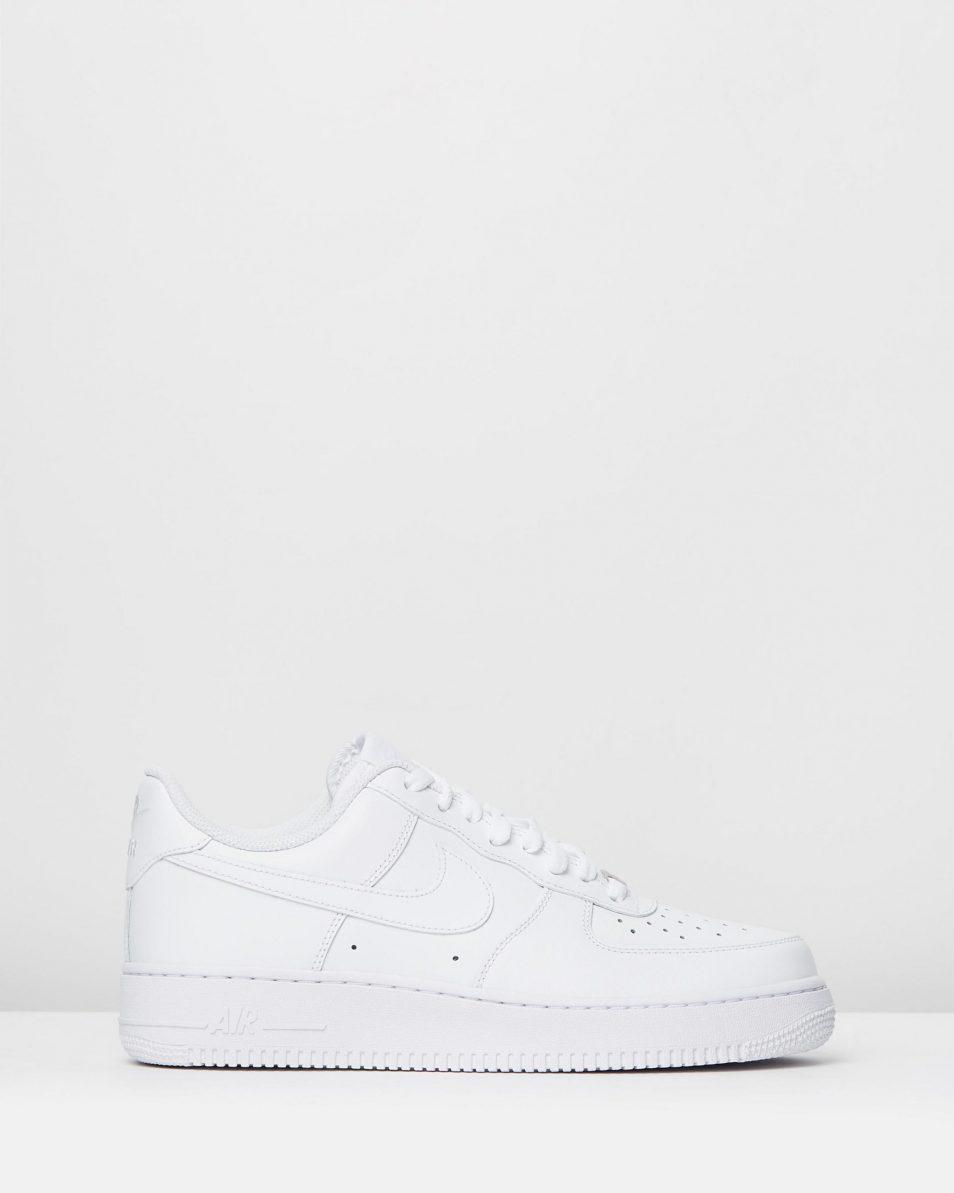 Nike Men's Air Force 1 '07 White Sneakers 1