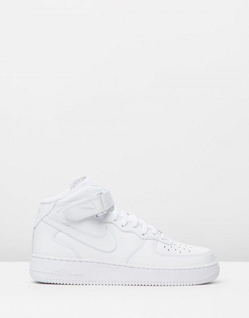 Nike Mens Air Force 1 Mid 07 White 1