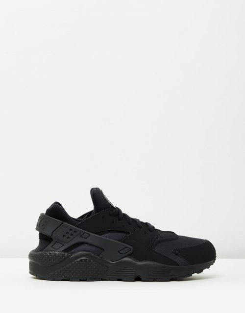 Nike Mens Air Huarache Run Black 1