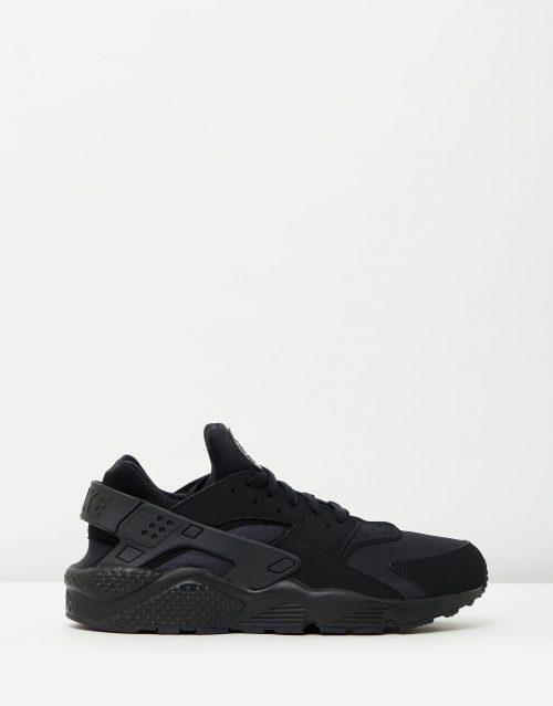 Nike Mens Air Huarache Run Black 1