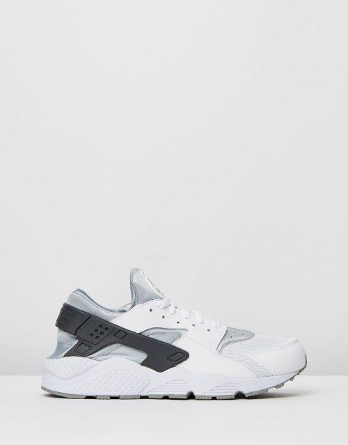 Nike Mens Air Huarache White Wolf Grey 1