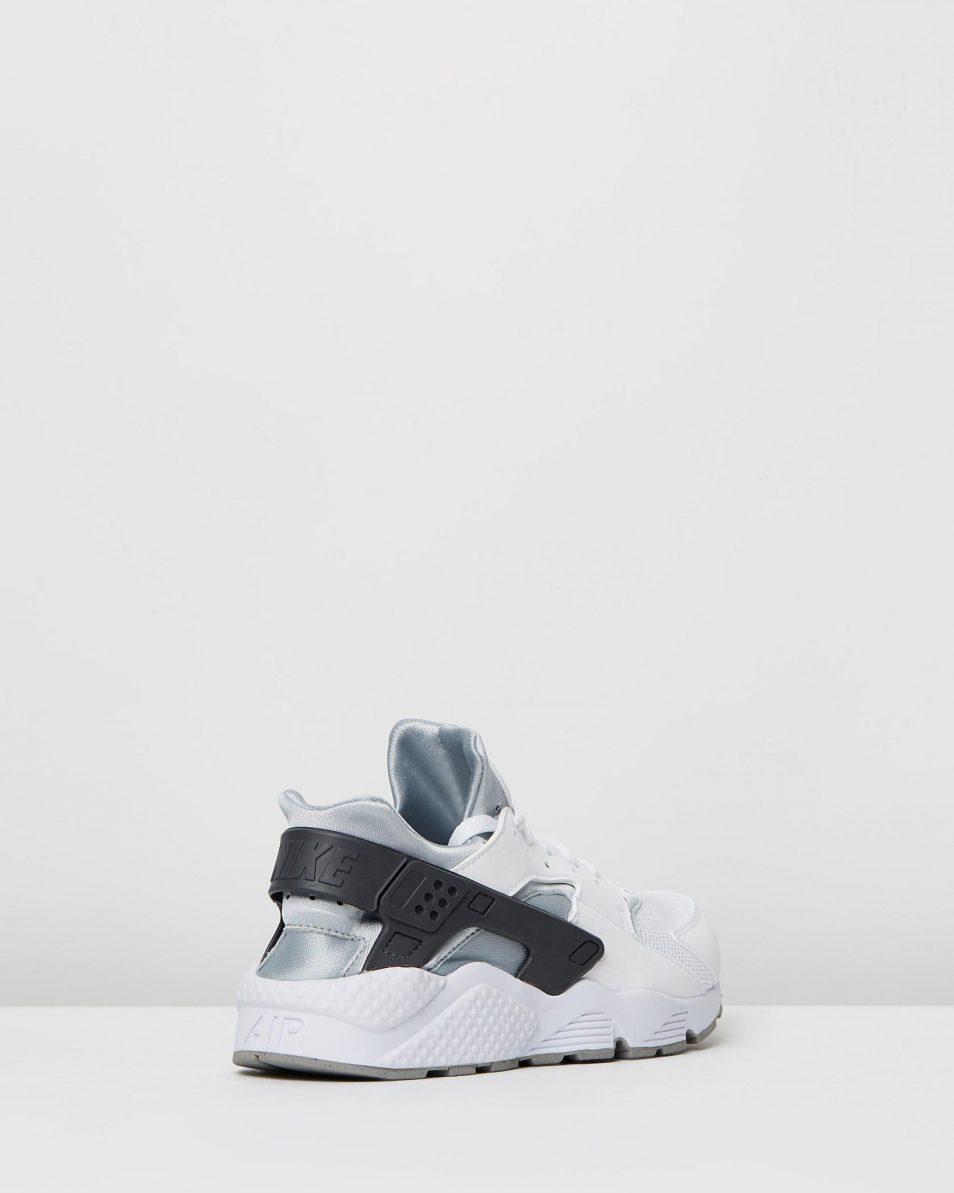 Nike Mens Air Huarache White Wolf Grey 2