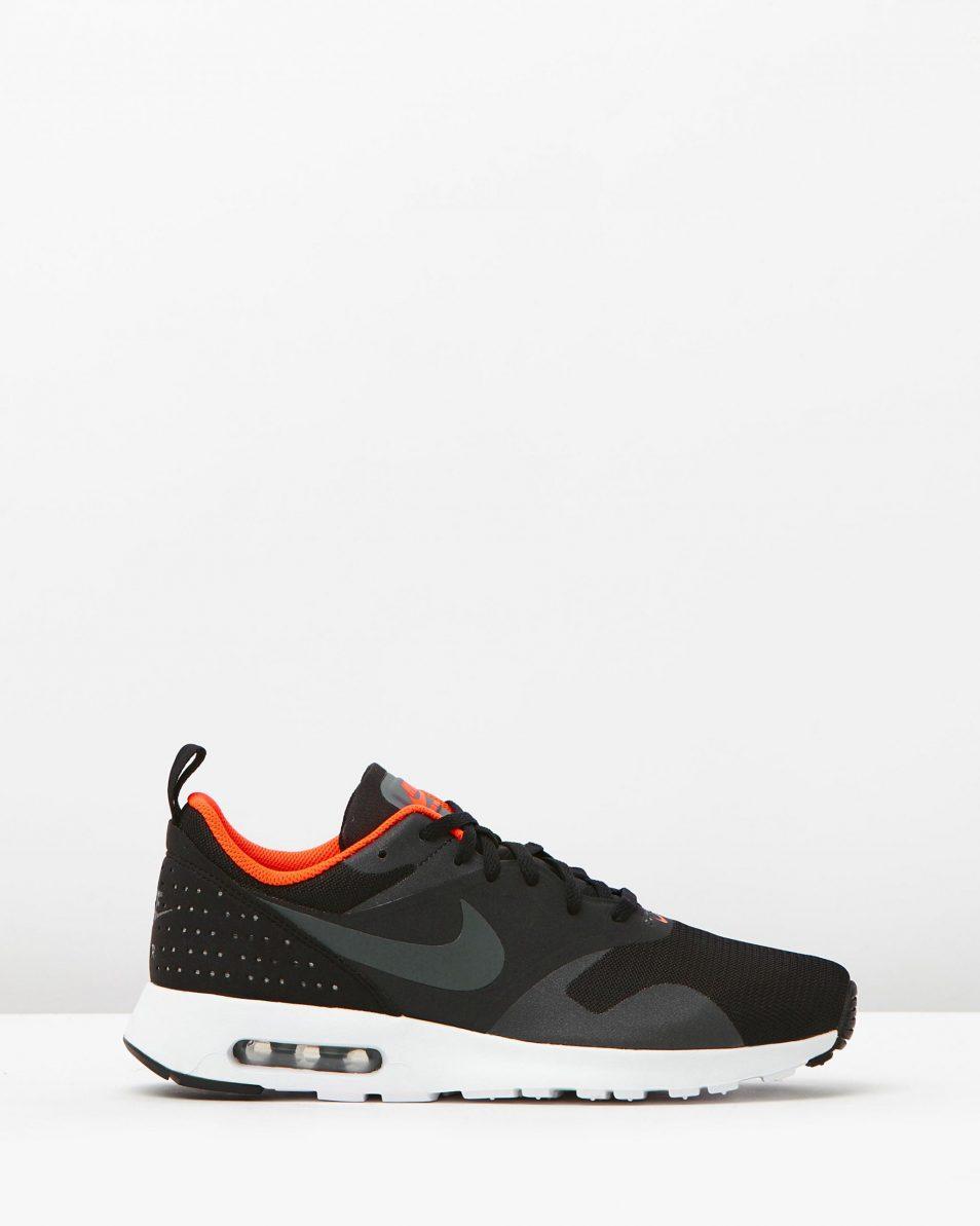 Nike Mens Air Max Tavas Black Dark Grey 1