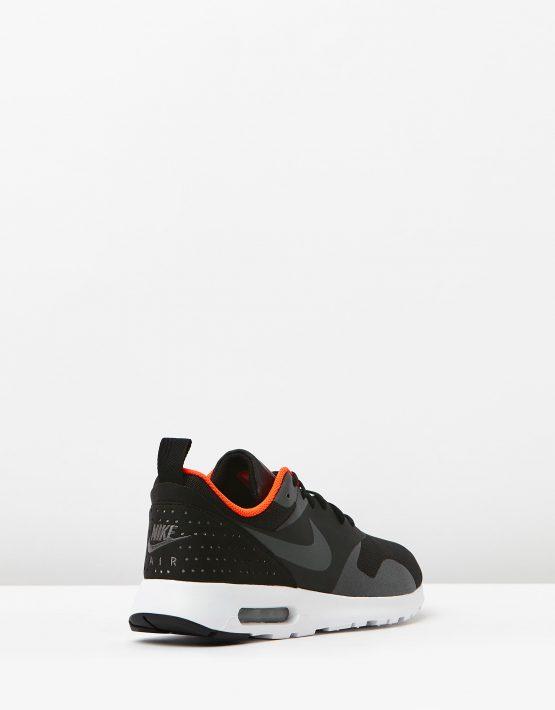 Nike Mens Air Max Tavas Black Dark Grey 2