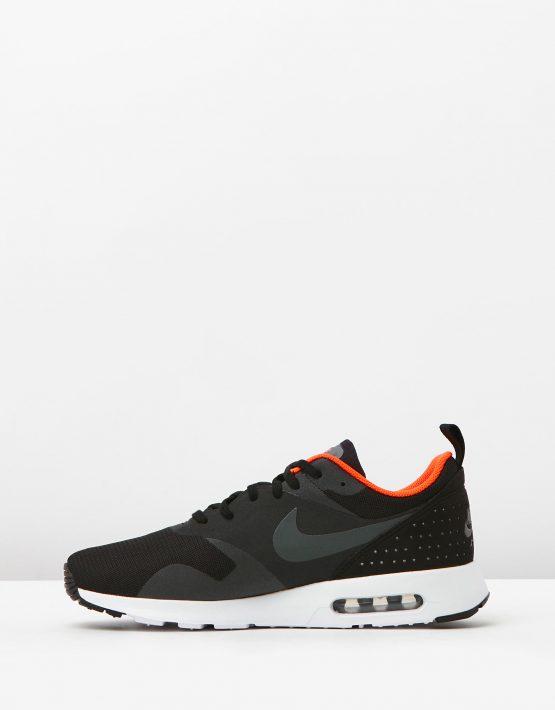 Nike Mens Air Max Tavas Black Dark Grey 3