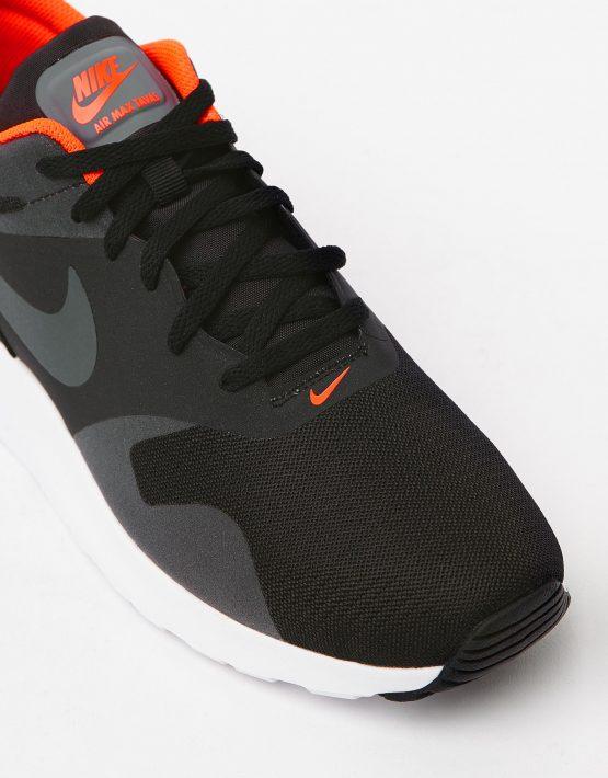 Nike Mens Air Max Tavas Black Dark Grey 4